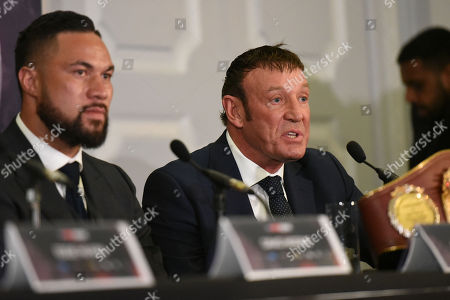 Kevin Barry during a Press Conference at the Dorchester Hotel on 16th January 2018
