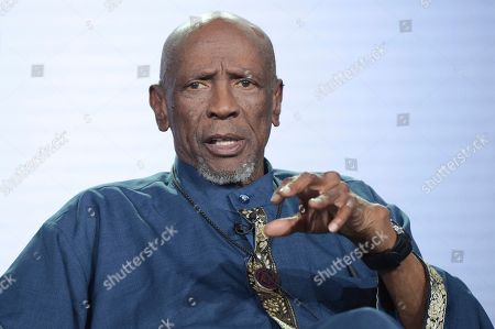 "Louis Gossett, Jr. participates in the ""Sighted Eyes Feeling Heart"" panel during the PBS Television Critics Association Winter Press Tour, in Pasadena, Calif"