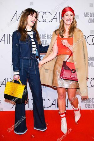 Natalia Avelon and Mareile Hoeppner
