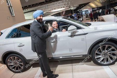 Editorial image of MEDG at the North American International Auto Show, Detroit, USA - 16 Jan 2018