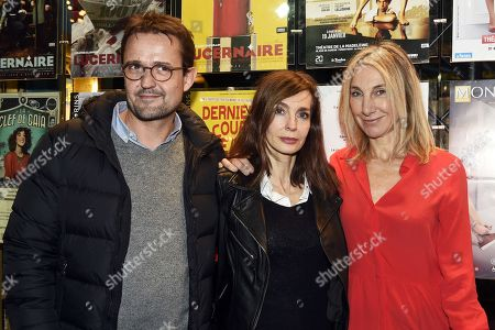 Stephane Cottin, Anne Parillaud and Francoise Lepine