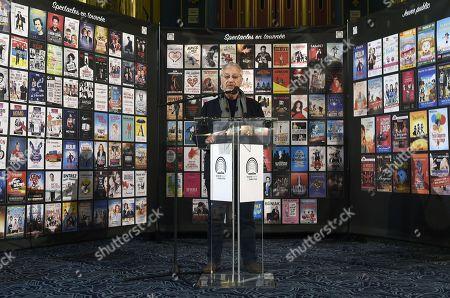 Editorial picture of Prive Theater 2018 season presentation, Folies Bergere, Paris, France - 16 Jan 2018