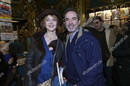 Fanny Cottencon and Bruno Solo