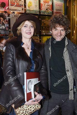 Fanny Cottencon and Nicolas Vaude