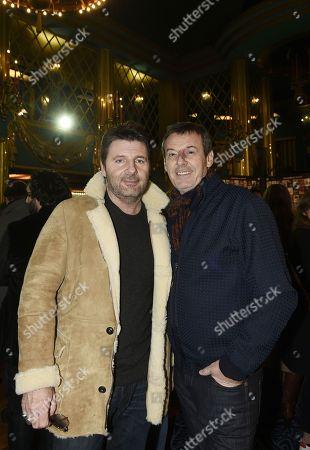 Jean-Luc Reichmann and Philippe Lellouche