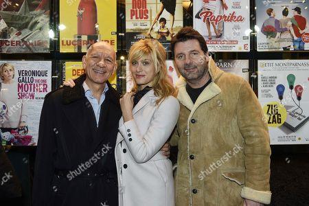 Mathilde Bisson, Philippe Lellouche and Dominique Bergin