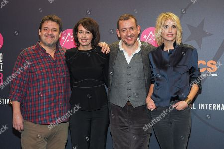 Guy Lecluyse, Valerie Bonneton, Dany Boon and Laurence Arne