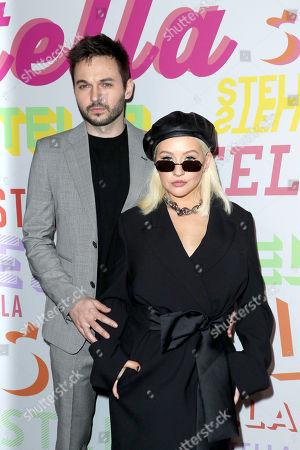 Christina Aguilera and Matt Rutler