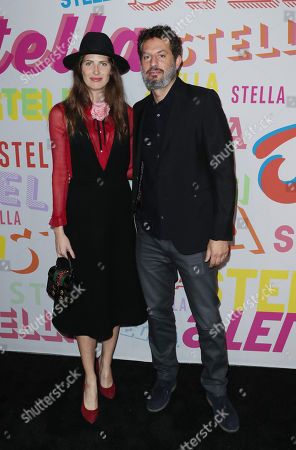 Guy Oseary and wife