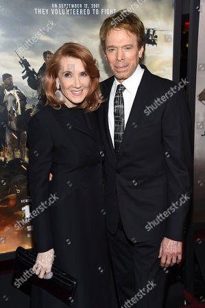 Jerry Bruckheimer and wife Linda Bruckheimer