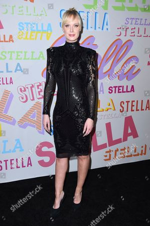 CariDee English arrives at the Stella McCartney Autumn 2018 Presentation on in Los Angeles