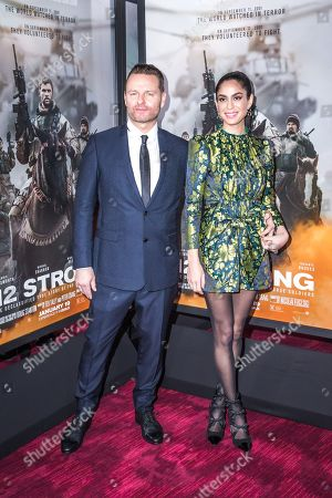 Editorial image of '12 Strong' film premiere, New York, USA - 16 Jan 2018