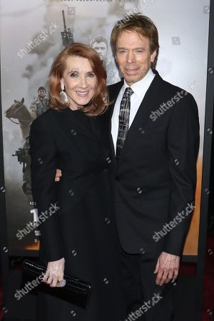 Linda Bruckheimer and Jerry Bruckheimer