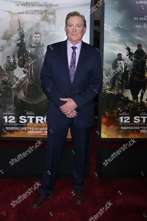Editorial picture of '12 Strong' film premiere, New York, USA - 16 Jan 2018