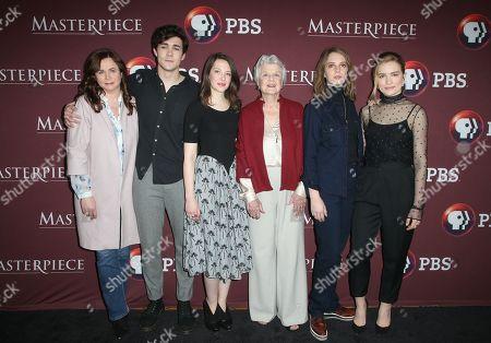 Emily Watson, Jonah Hauer-King, Annes Elwy, Angela Lansbury, Maya Hawke. Willa Fitzgerald