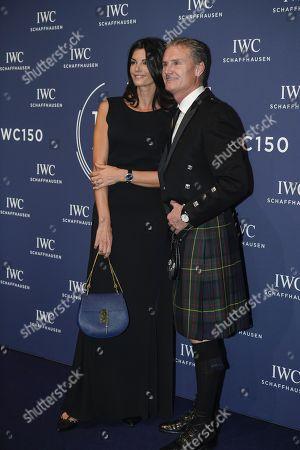 Karen Minier, David Coulthard