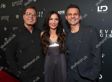Producer Mickey Liddell, Director Bethany Ashton Wolf and Producer Pete Shilaimon