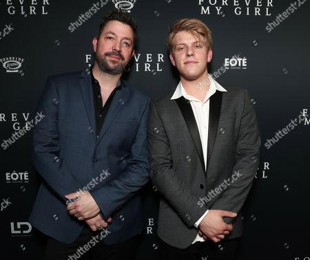 Stock Image of Songwriters Brett Boyett and Jackson Odell