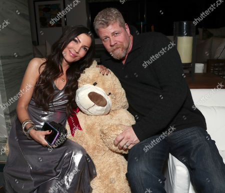 Director Bethany Ashton Wolf and Michael Cudlitz