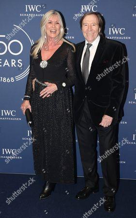 Guenter Netzer, wife Elvira