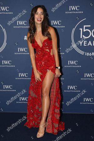 Editorial picture of IWC Gala, Salon International de la Haute Horlogerie, Geneva, Switzerland - 16 Jan 2018