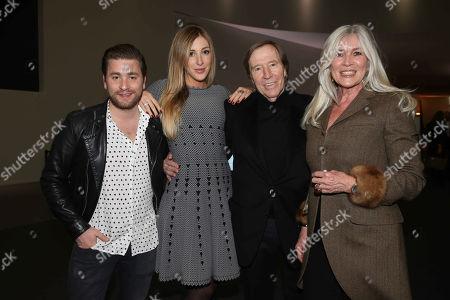 Sebastian Buergin, Alana Netzer, Guenter Netzer, wife Elvira