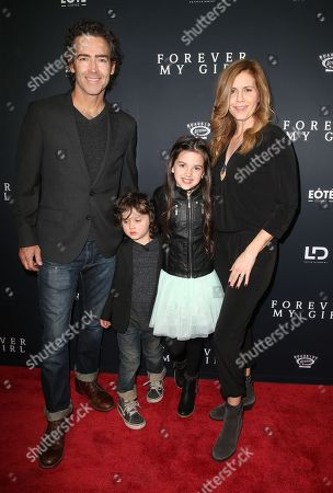 Stock Picture of John Fortson, Joshua Forston, Abby Ryder Fortson and Christie Lynn Smith