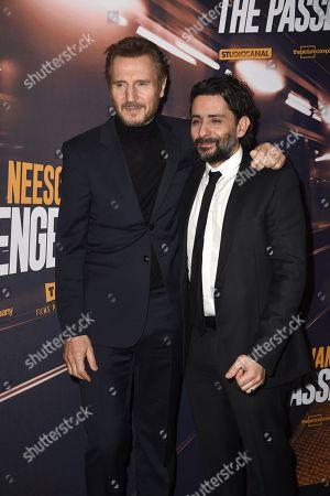 Lian Neeson and Jaume Collet-Serra
