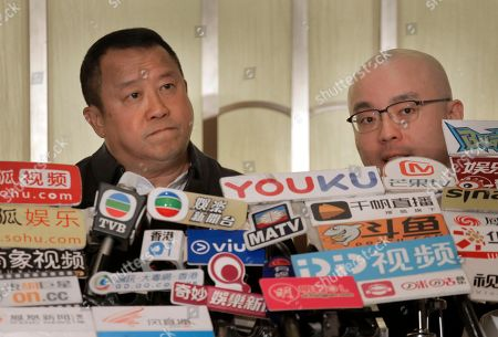 Eric Tsang, Kenneth Lam. Hong Kong actor Eric Tsang, left, pauses as he is accompanied by his lawyer Kenneth Lam, right, during a press conference in Hong Kong, . Tsang vehemently denies rumors of allegedly sexual harassment made against him. Tsang said that all accusations are fabricated