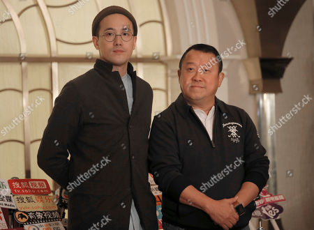 Eric Tsang, Derek Tsang. Hong Kong actor Eric Tsang, right, poses with his director son, Derek Tsang for photographers before a press conference in Hong Kong, . During the press conference, Tsang vehemently denied rumors of allegedly sexual harassment made against him. Tsang said that all accusations are fabricated