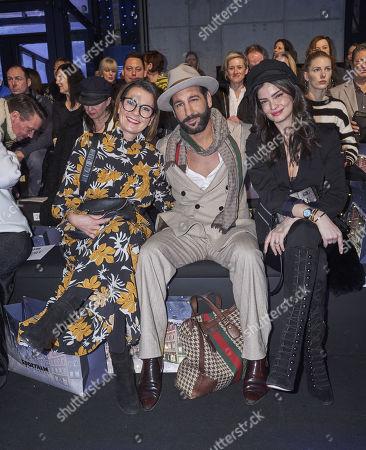 Astrid Rudolph, Massimo Sinato and Shermine Sharivar