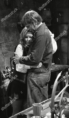Frank Blakey, as played by Eric Allan; Janie Harker, as played by Diane Grayson