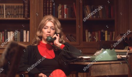 Stock Picture of Ep 0042 Tuesday 13th March 1973 George tells Laura she can have the divorce - With Laura, as played by Patricia Haines