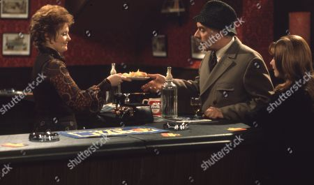 Ep 0039 Monday 5th March 1973  The refurbished Woolpack opens, but the customers seem to be elsewhere. Amos eagerly awaits a visit from the brewery to inspect the premises - With Alison Gibbs, as played by Carolyn Moody; Janie Harker, as played by Diane Grayson ; Henry Wilks, as played by Arthur Pentelow