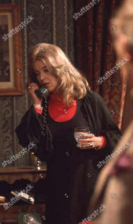 Stock Image of Ep 0042 Tuesday 13th March 1973 George tells Laura she can have the divorce - With Laura, as played by Patricia Haines