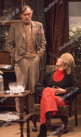 Ep 0042 Tuesday 13th March 1973 George tells Laura she can have the divorce - With George Verney, as played by Patrick Holt; Laura, as played by Patricia Haines