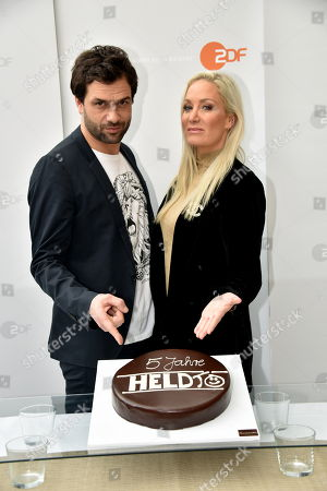 "Editorial image of Fotocall for the 5th anniversary of tv series ""Heldt"", Cologne, Germany - 17 Jan 2018"