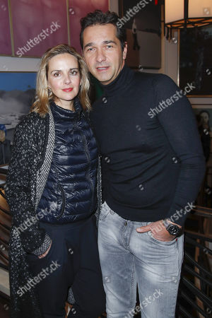 Stock Image of Andreas Elsholz and Denise Zich