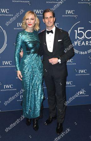 Cate Blanchett with Christoph Grainger-Herr