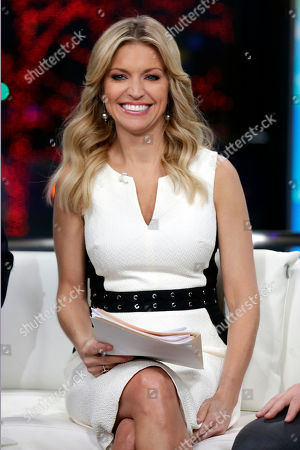 "Co-host Ainsley Earhardt appears on the ""Fox & friends"" television program in New York"
