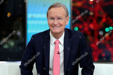 """Co-host Steve Doocy appears on the """"Fox & friends"""" television program in New York"""
