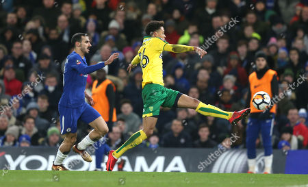 Editorial photo of Chelsea v Norwich City , Emirates  FA Cup 3rd Round Replay, Stamford Bridge, London, UK - 17 Jan 2018