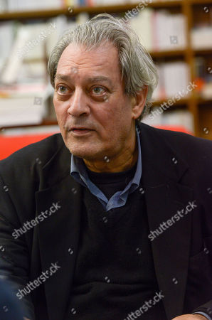 Editorial photo of Paul Auster '4 3 2 1' book signing, Vincennes, France - 17 Jan 2018