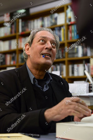 Editorial picture of Paul Auster '4 3 2 1' book signing, Vincennes, France - 17 Jan 2018