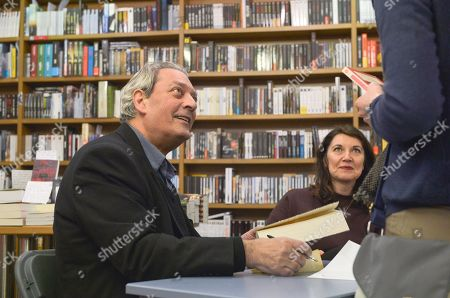 Editorial image of Paul Auster '4 3 2 1' book signing, Vincennes, France - 17 Jan 2018