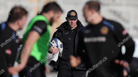 Editorial image of Exeter Chiefs Training, Exeter, UK - 17 Jan 2018