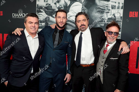 Tucker Tooley, Producer, Pablo Schreiber, Christian Gudegast, Writer/Director/Producer, Mark Canton, Producer,