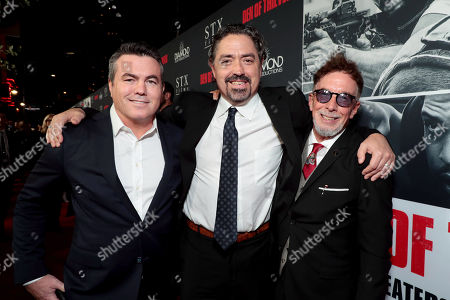 Tucker Tooley, Producer, Christian Gudegast, Writer/Director/Producer, Mark Canton, Producer,
