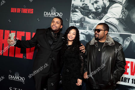Editorial picture of STX Films Los Angeles film Premiere of 'Den of Thieves' at Regal Cinemas L.A. Live, Los Angeles, CA, USA - 17 Jan 2018