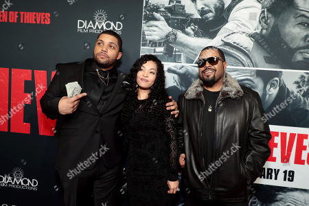 Editorial image of STX Films Los Angeles film Premiere of 'Den of Thieves' at Regal Cinemas L.A. Live, Los Angeles, CA, USA - 17 Jan 2018